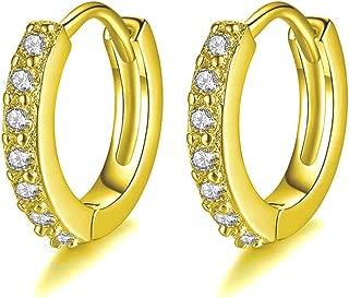 Best infinity hoop earrings gold Reviews