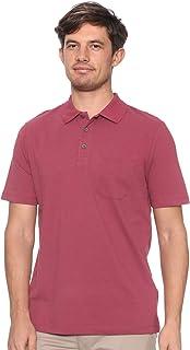 DeFacto Chest Pocket Short Sleeves Basic Cotton Polo Shirt for Men