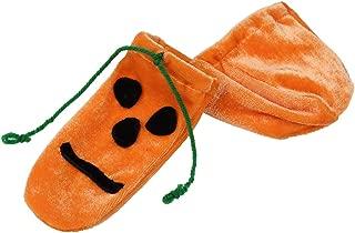 Men's Halloween Pumpkin Lingerie Compact Bag Cock Sock G String Underwear