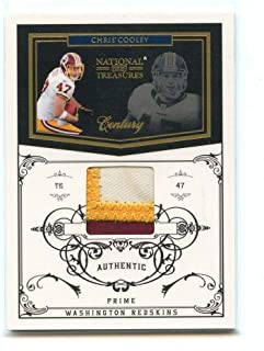 2010 Playoff National Treasures Century Material Prime Jersey #147 Chris Cooley - Near Mint Condition Ships in New Holder