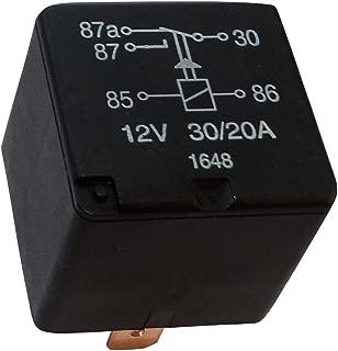 Rele intervalo del limpiaparabrisas C40777 compatible con 90069864 1238550 13230560 4708100 AERZETIX