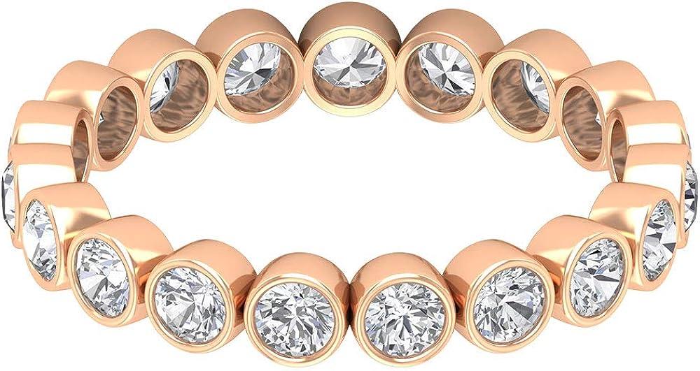 1.24 Ct SGL Superlatite Certified Max 73% OFF Diamond Eternity Ring G Wedding Statement