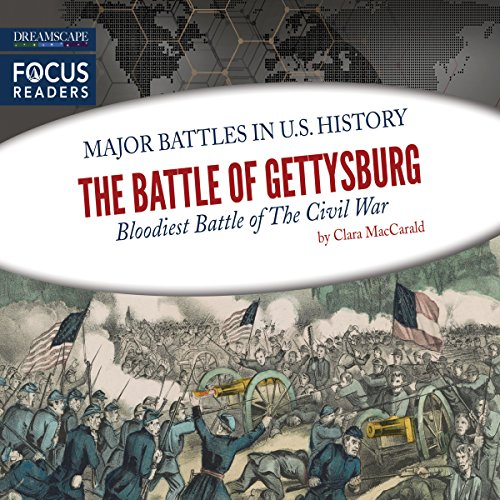 The Battle of Gettysburg audiobook cover art