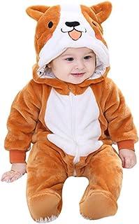 ZS ZHISHANG Bleu Pokemon Snorlax Baby,Blue Pokemon Snorlax Baby Jumpsuit Baby Fleece Footed Jumpsuit Pram Infant Pajamas K...