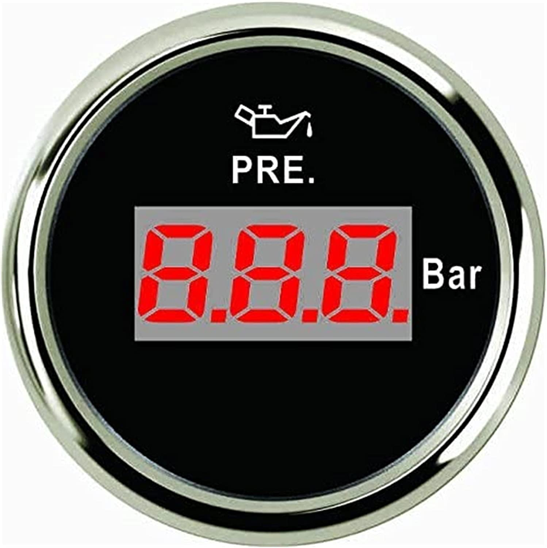 TONG Digital Oil Pressure Gauge Meter 2