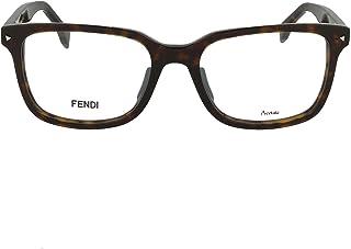FENDI - FF 0220 086 52 Gafas de sol, Marrón (Dark Havana), Hombre