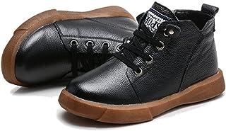 [チェリーレッド] 子供靴 男の子 女の子 ジュニア ブーツ ショートブーツ 秋冬 防寒 耐磨 履きやすい 温かい