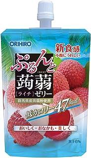 Orihiro Purun To Konnyaku Jelly Lychee Pack, 130G
