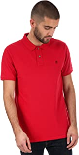 Timberland Men's Merrymeeting River Slim Millers River Polo Shirt XL Red