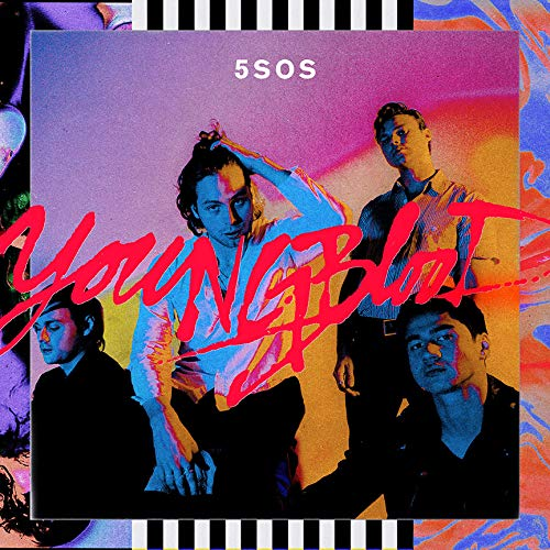 Lost Posters Album Cover Poster Thick 5 Seconds of Summer: Youngblood Music 2018 giclee Record LP Reprint #'d/100!! 12x12