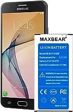 Galaxy J7 Perx Battery,MAXBEAR [3300mAh] Replacement Li-ion Battery for Samsung Galaxy J7 EB-BJ710 J727 J727A, J727V, J727R4, J727T, J727T1   Galaxy J7 Prime Battery.[12 Month Warranty]