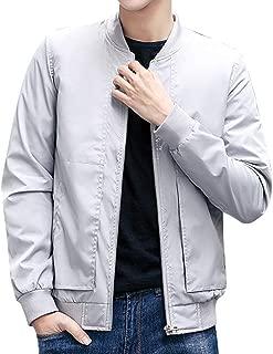 (ソインガ) Soinnga メンズ MA-1 ジャケット スタジャン 春 秋 ナイロン ジャンパー 薄手 ブルゾン 長袖 無地 カジュアル アウター