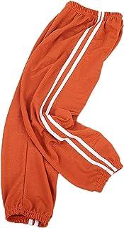 FAIRYRAIN - Pantalones de verano para niños y niñas de algodón y lino suave antimosquitos