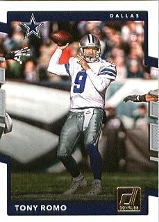 2017 Donruss #290 Tony Romo Dallas Cowboys Football Card