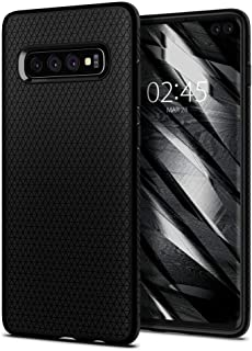 Spigen Samsung Galaxy S10 (Plus) Case, Flexible Thin TPU, Black