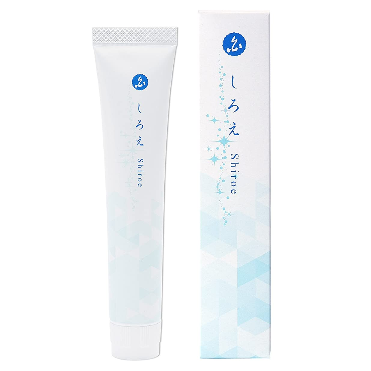 出演者コンプリート排他的しろえ 歯磨きジェル 薬用 ホワイトニング歯磨き粉 医薬部外品 はみがき粉 50g 日本製