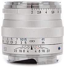 Zeiss Planar T 50mm f/2.0 ZM Mount Lens (Silver)