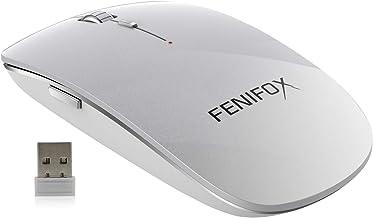Wireless Mouse,2.4G USB Slim Mouse Receiver Portable Ergonomic Travel Quiet Mice for Laptop,Tablet,PC,chromebook Mac MacBo...