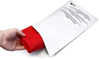 Poly Mailer Bags - 100 Pack 10x13 ShipQuick Envelope Mailers with Adhesive Strip and Safety Regulation Choking Warning- Water and Weather Resistant Envelope Bags (10x13 100 Pack)