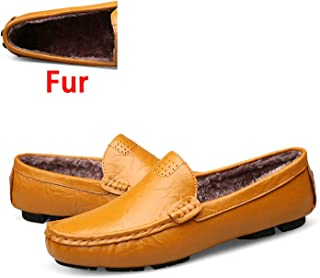 3186bc5df058 Genuine Leather Men Shoes Soft Moccasins Loafers Fashion Men Flats Comfy Driving  Shoes