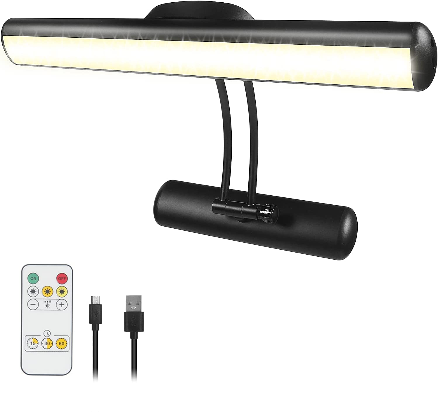 Wireless Picture Light with 3 specialty shop Rechargeable Lighting L mart Painting