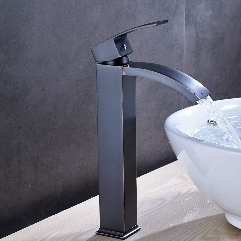 Lddpl Massivem Messing Luxus Bad Wasserhahn l Eingerieben Bronze Waschbecken Wasserhahn Mischbatterie Neu