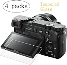 PCTC Screen Protector Compatible for Sony A6400 A6000 A6300 A5000 Nex-7 NEX-6 NEX-5 NEX-6L NEX-3N (4 Pack)