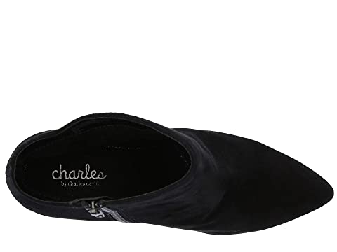 Black David Suede Charles Delicious by LeatherScarlet Gold Charles SuedeRose gpFqIwxSF