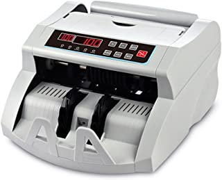 Money Counter Machine DOMENS UV/MG Bill Detection Cash Counting Machine Automatic Currency Cash Counter (LED Display)