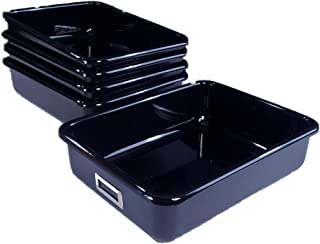 T 181-4 Lab Tray, Case Pack of 5, Black