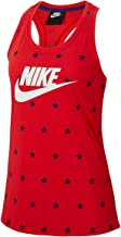 Nike Womens Americana Stars Racerback Tank Top Racer Red CQ4380-688