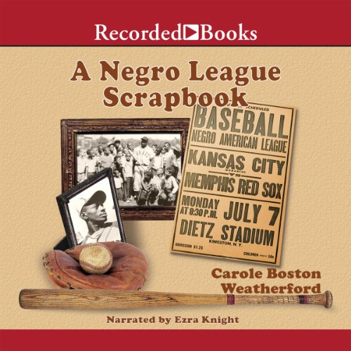 A Negro League Scrapbook audiobook cover art