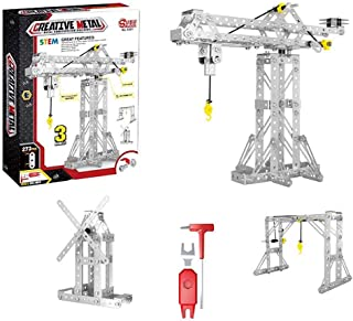 Creative Metal 3D Puzzle, Simulation Construction Toys Sets STEM Learning Toys,Improve Hands-on, Brain Skills
