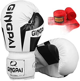 XYXZ Boxing gloves MMA Boxing Gloves Safety Hand Strap Muay Thai Training Pro Grip Sparring Punching Bag Breathable Mitts ...