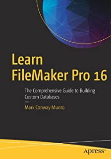 filemaker pro web database