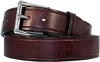 Men's Heavy Duty Belt Leather Work Belt USA Handcrafted Full Grain Leather 1 3/4'' 10 Year Warranty