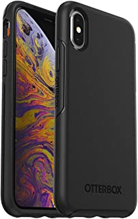 OtterBox Symmetry Series Case for iPhone Xs & iPhone X - Frustration Free Packaging - Black (Renewed)