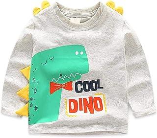 Fairy Baby Toddler Boys Spring Cartoon Graphic Tops Tee Cotton T-Shirt Kid Casual Shirt