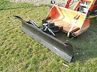 snow plow for compact tractor loader
