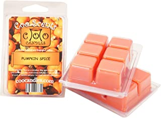 3 Pack of Highly Scented Coo Candles Soy Wickless Candle Bar Wax Melts - Pumpkin Spice (3)