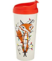 Kate Spade New York - Festive Foxes Thermal Mug