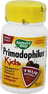 Nature'S Way - Primadophilus Kids Cherry 30 Chewable Tablets