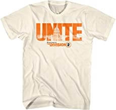 The Division Action Role-Playing Video Game Division 2 Unite Adult T-Shirt Tee