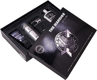 Armaf The Warrior For Men, 4 Piece Gift Set, The Warrior Eau De Parfum - 100ml, Perfumed Body Spray - 50ml, Shampoo - 250m...