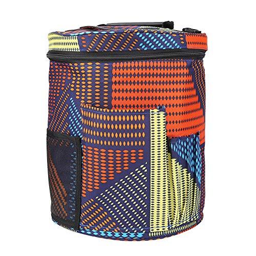 600D Oxford bolsa de almacenamiento de tela bolsa de tejer hilo para tejer ganchillo herramienta...