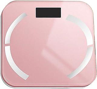 MHBY Báscula de Peso, báscula de Peso Digital Inteligente analizador de IMC, calorías de Fitness, báscula de Peso de Agua, báscula de baño electrónica, báscula de baño Bluetooth