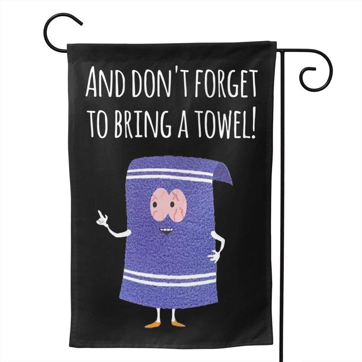 Amazon.com: Fangpeilian South Park - Towelie Double-Sided Burlap Garden  Flag: Home & Kitchen