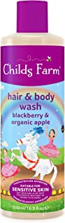 Childs Farm Children's Hair & Body Wash Blackberry & Organic Apple Extract, 500ml