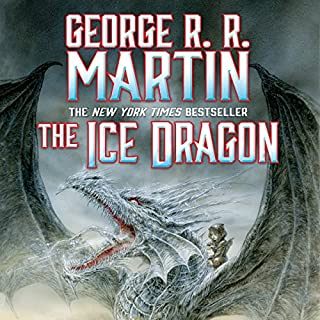 The Ice Dragon audiobook cover art