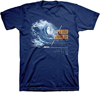 Kerusso T-Shirt Make A Wave Mark 16:15 Metro Blue